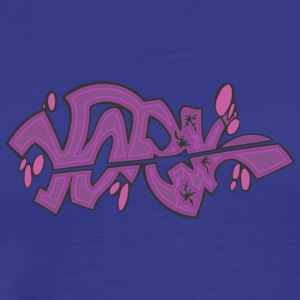 york Graffiti - Männer Premium T-Shirt