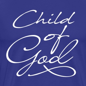 Child of God in white - Men's Premium T-Shirt