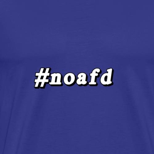 #noafd - Männer Premium T-Shirt