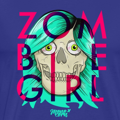 monocorn // Zombie Girl - Männer Premium T-Shirt