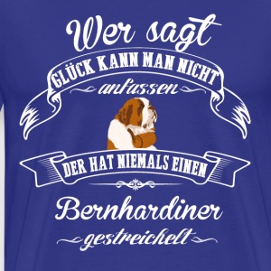 St. Bernard happiness - Men's Premium T-Shirt