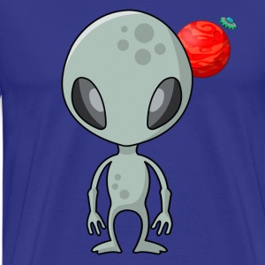 Friendly Alien - Männer Premium T-Shirt