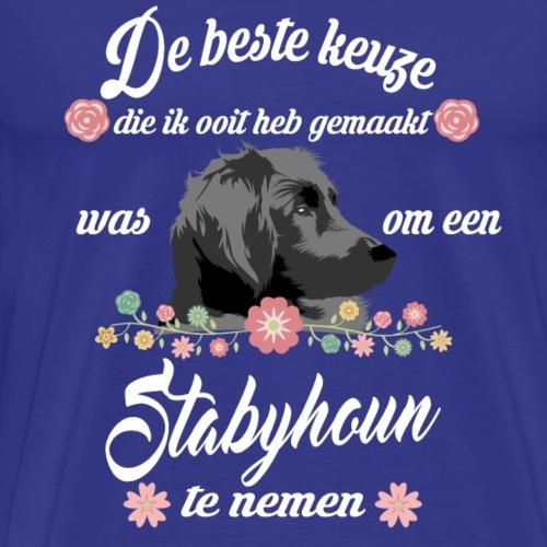 Stabyhoun - Mannen Premium T-shirt