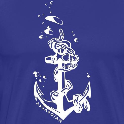 Asgardian Anker - Männer Premium T-Shirt