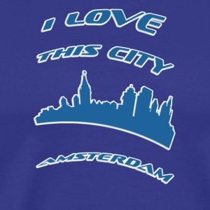 aMSTERDAM I love this city - Men's Premium T-Shirt