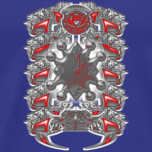 1 7 - Männer Premium T-Shirt