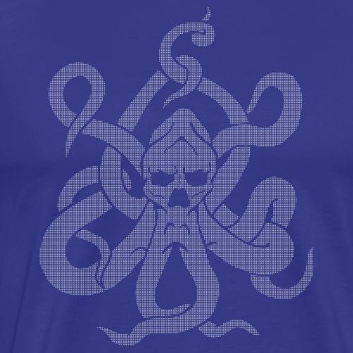 Brand Design halftone negative - Männer Premium T-Shirt