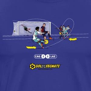 CAG-LAZ 2-2   Il gol di tacco di Ciro - Maglietta Premium da uomo