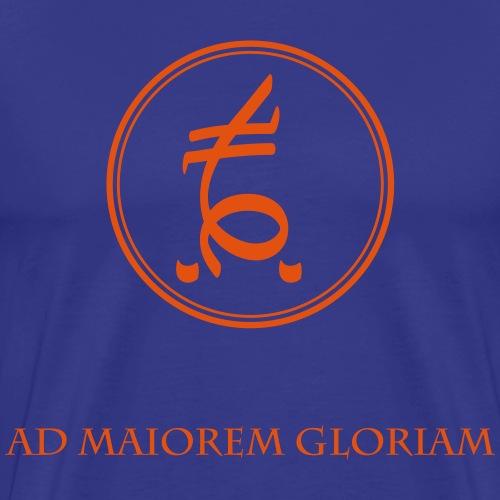 Spirit Power WILL - Ad maiorem gloriam - Männer Premium T-Shirt