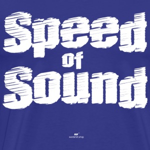 Speed ​​of Sound - Maglietta Premium da uomo
