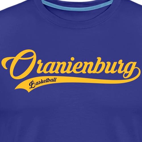 Oranienburg Schriftzug hell - Männer Premium T-Shirt