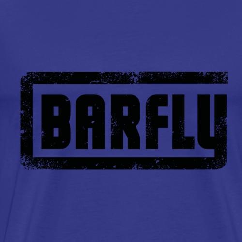 Barfly - Black Logo - Männer Premium T-Shirt
