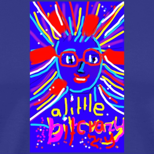 little bit crazy,fund esign© by art elisa elisa ho - Männer Premium T-Shirt