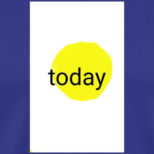 not tomorrow...fund esign© by art elisa elisa hopp - Männer Premium T-Shirt