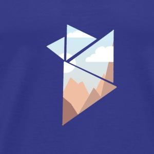 shattered - Premium-T-shirt herr