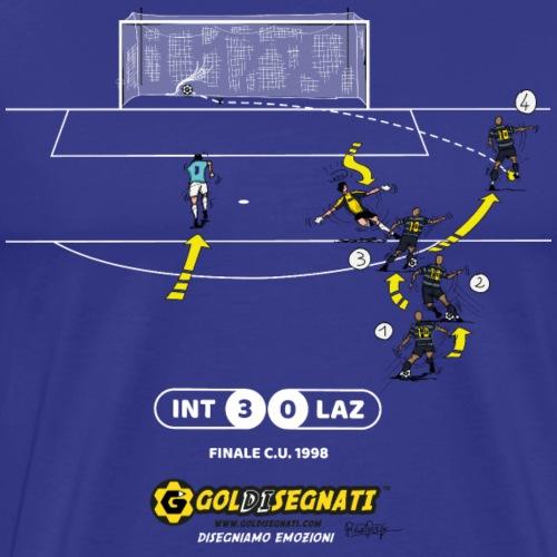 INT-LAZ 3-0 Il Gol dell'Asso Brasiliano - Maglietta Premium da uomo