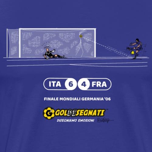 ITA-FRA 6-4 L'ultimo rigore - Maglietta Premium da uomo