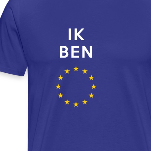 Ik Ben Europe - Men's Premium T-Shirt