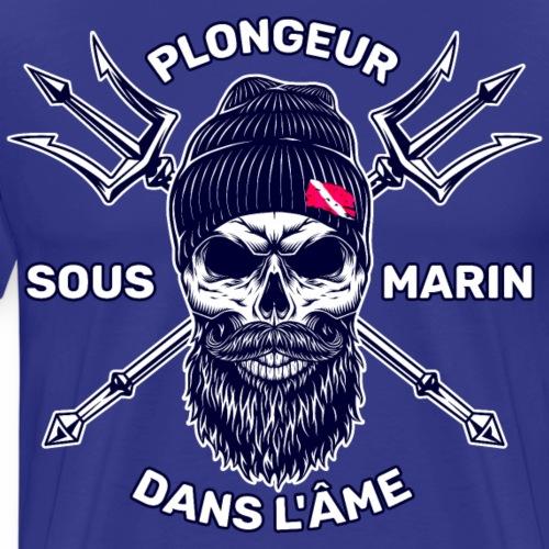 Plongeur Sous Marin Dans L'Âme - T-shirt Premium Homme
