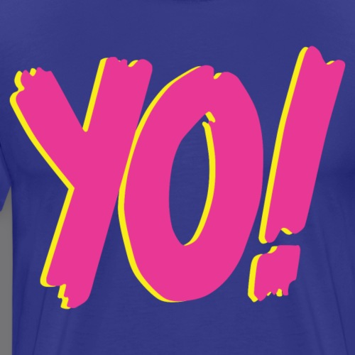 YO Tee Shirts - Men's Premium T-Shirt