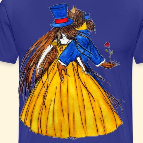 Qui est le Chapelier Fou ? La Belle et la Bête ! - T-shirt Premium Homme