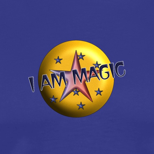 I AM Magic1 - Männer Premium T-Shirt