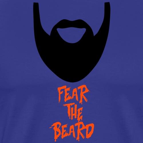 fear the beard - Mannen Premium T-shirt
