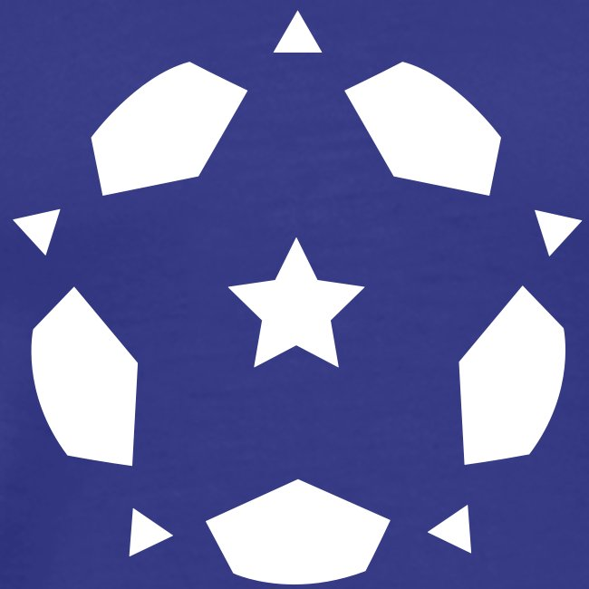 Star of the Beautiful Game vector large