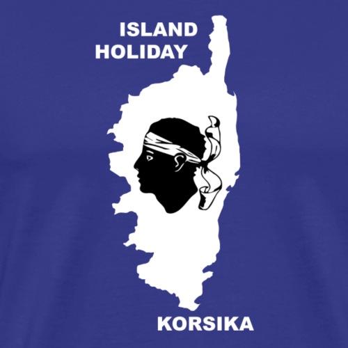 Korsika Insel Urlaub Holiday - Männer Premium T-Shirt