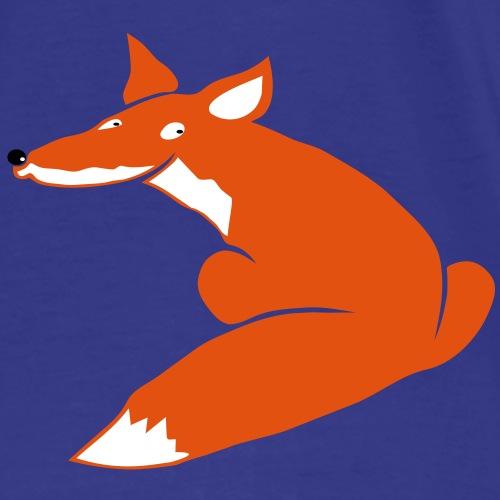 fuchs hund wolf fuchsig katze fox foxy schlau tier - Männer Premium T-Shirt