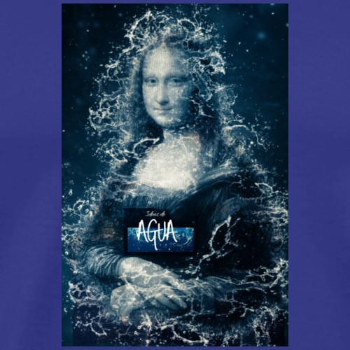Water Mona Lisa - Men's Premium T-Shirt