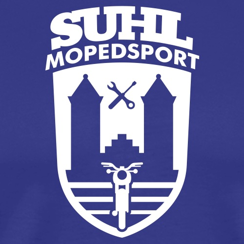 Suhl Mopedsport S50 / S51 Logo No.2 - Men's Premium T-Shirt