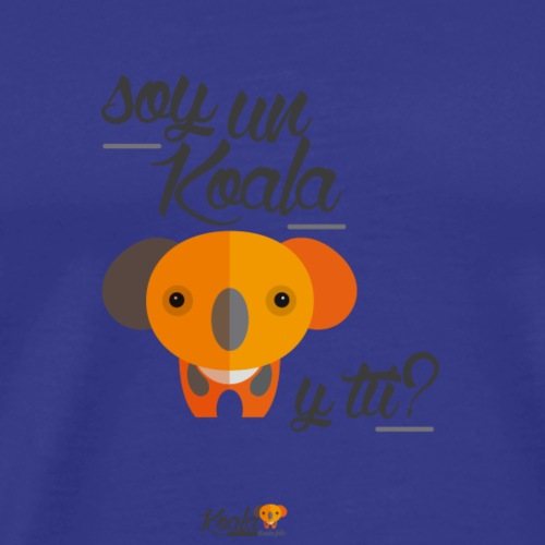 Soy un Koala, y tú? Taza - Camiseta premium hombre