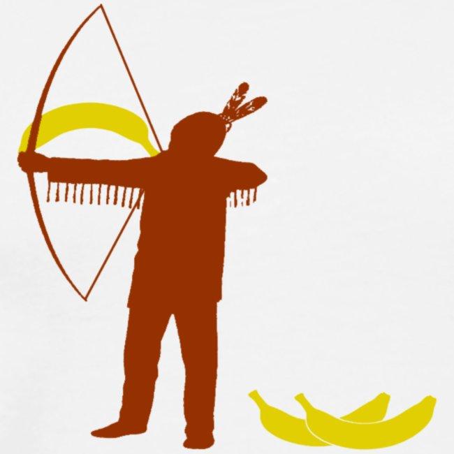 Ze schieten met bananen