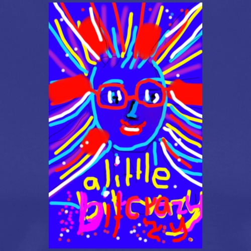 little bit crazy,fund esign© by art elisa elisa ho - Männer Premium T-Shirt