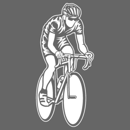 Rennrad / Racing Bicycle 01_weiß - Männer Premium T-Shirt