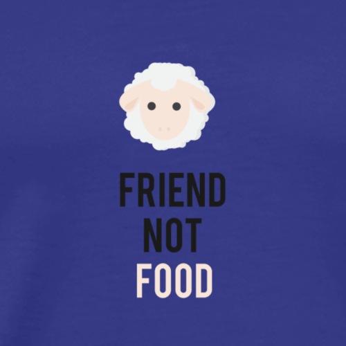 Mouton Friend not food - T-shirt Premium Homme