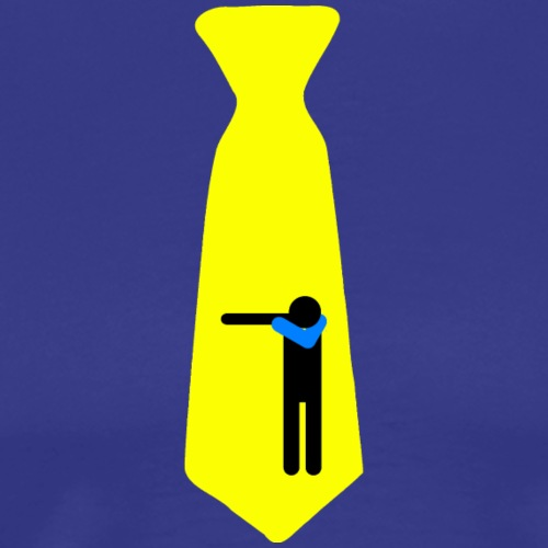 Dab Cravatta Gangsta Yellow - Maglietta Premium da uomo