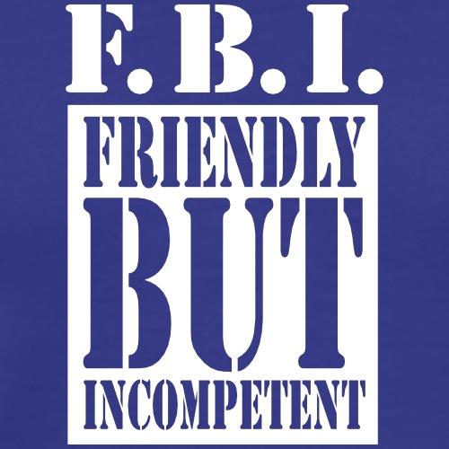 FBI - TV Serie Design - Männer Premium T-Shirt