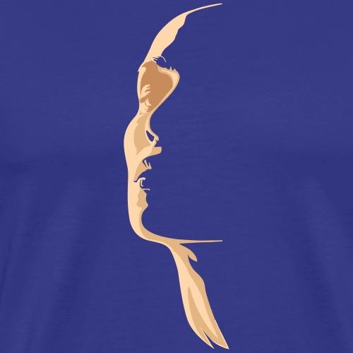 Woman Face - Maglietta Premium da uomo