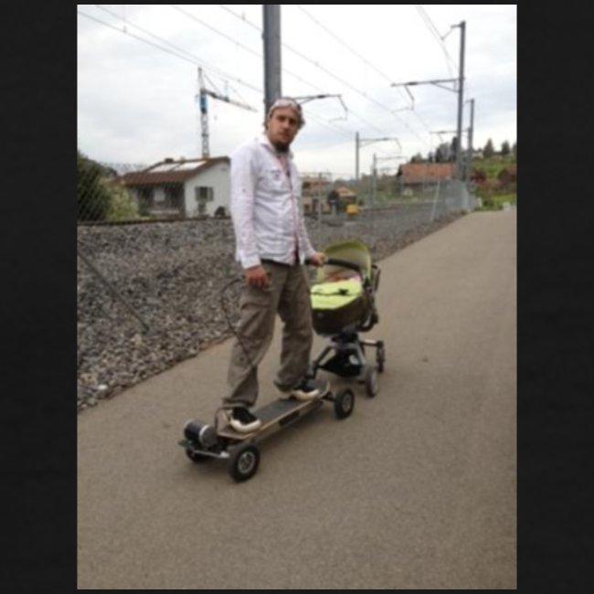 New E Skateboard Style