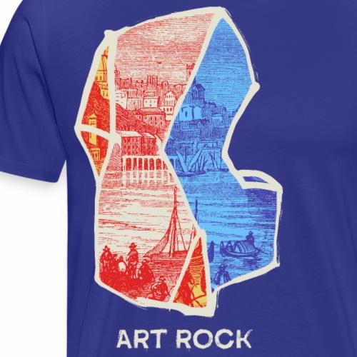 ART ROCK No 3 colour - Mannen Premium T-shirt