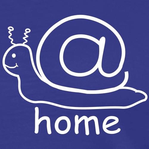 at home schnecke - Männer Premium T-Shirt