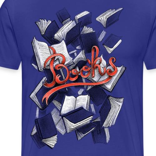 Books - T-shirt Premium Homme
