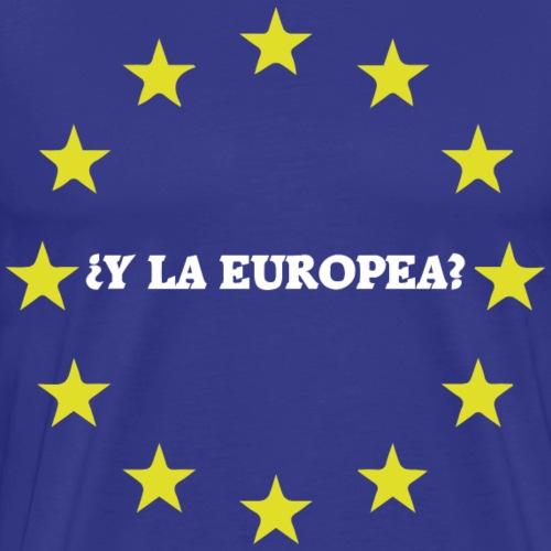Y la europea...