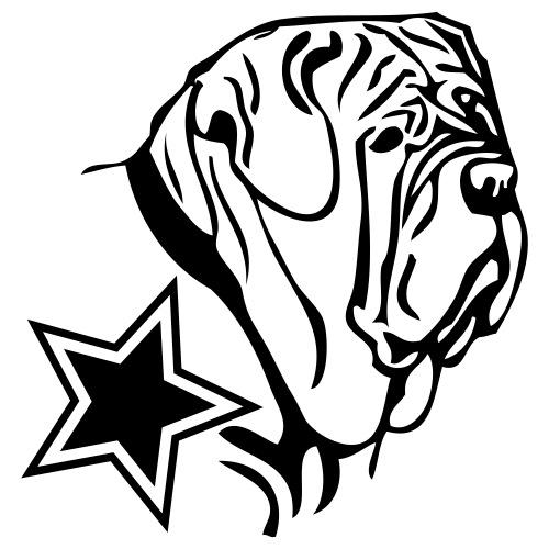 mastino - www.dog-power.nl - Mannen Premium T-shirt