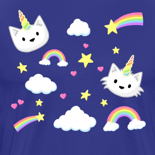 Unicorn Cats - Men's Premium T-Shirt