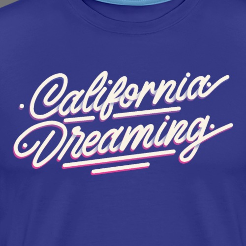 CALIFORNIA DREAMING Vintage Tee Shirt - Men's Premium T-Shirt