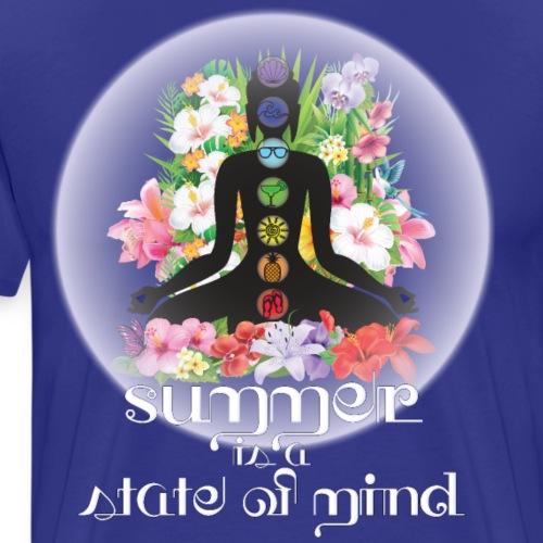 Summer Chakra - Maglietta Premium da uomo