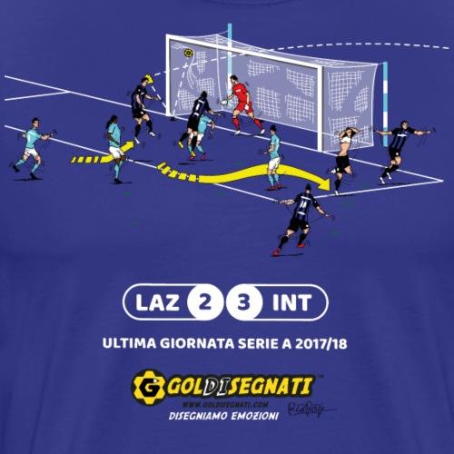 LAZ-INT 2-3 Il Gol della qualificazione - Maglietta Premium da uomo